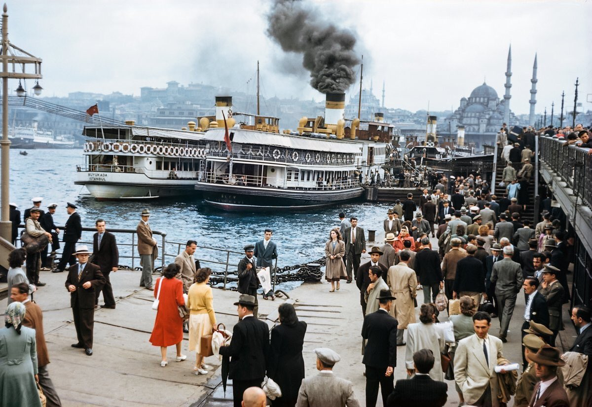 İstanbul (1950). via: National Geographic