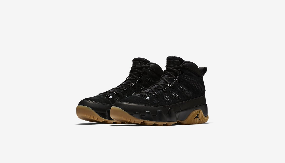 7592019d6a1c7 Here s your first official look at the upcoming winter ready Jordan 9 Retro  Boot NRG releasing in two colorways Dec. 8 for  300. Pictured is the