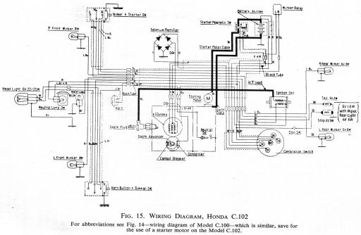 c100 wiring diagram  schematic diagram  electronic