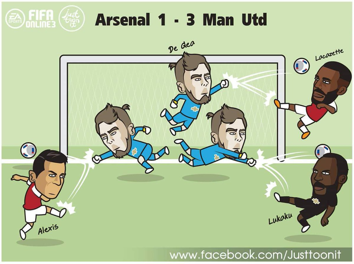 Arsenal vs manU in a nutshell #ARSMUN  #Arsenal <br>http://pic.twitter.com/cT1zHGs0TP