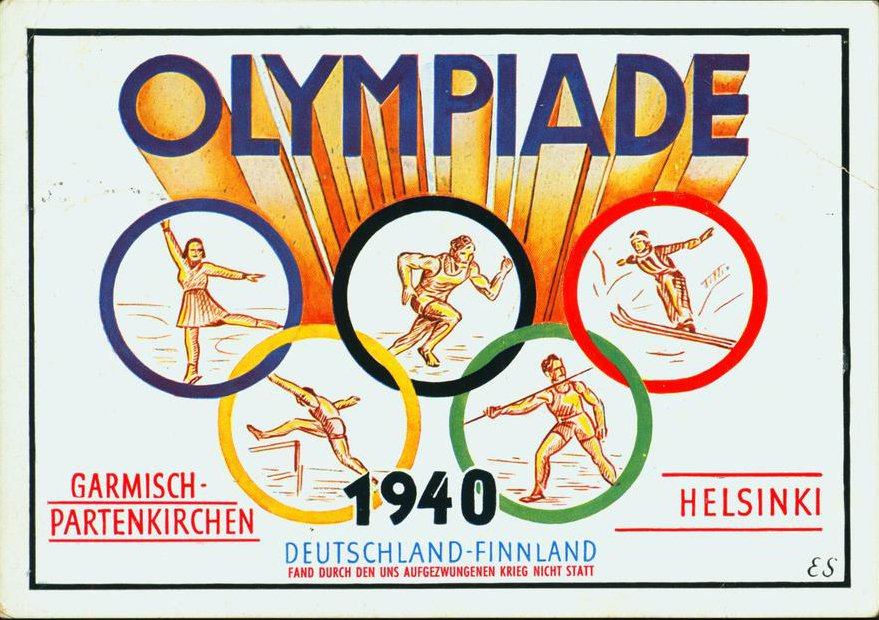 Image result for 1940 olympics cancelled