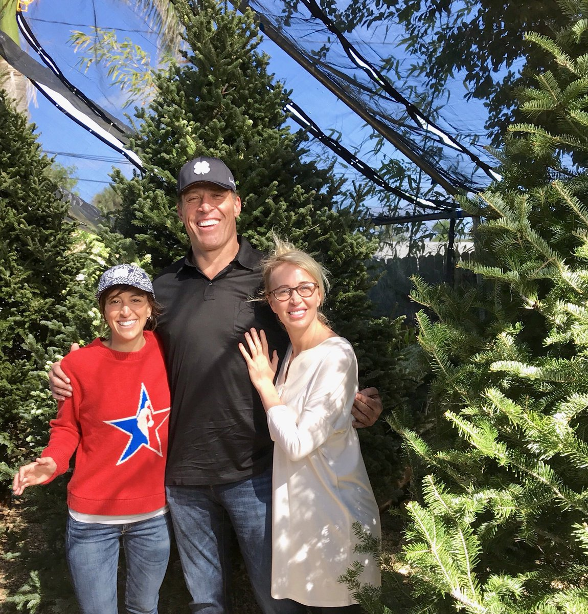 "tony robbins on twitter: ""tis the season🎄 sage and mary b like the"