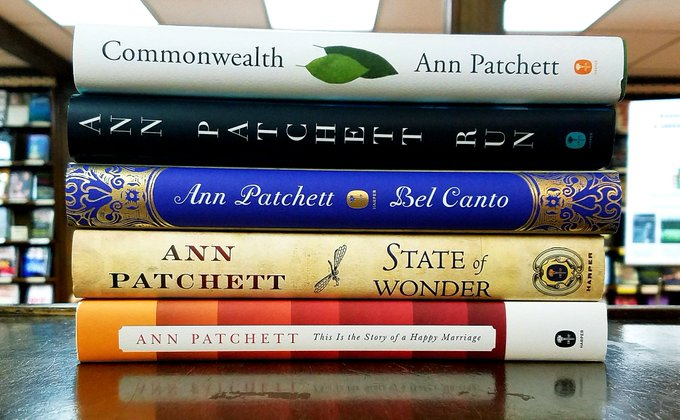 Happy Birthday to Ann Patchett!