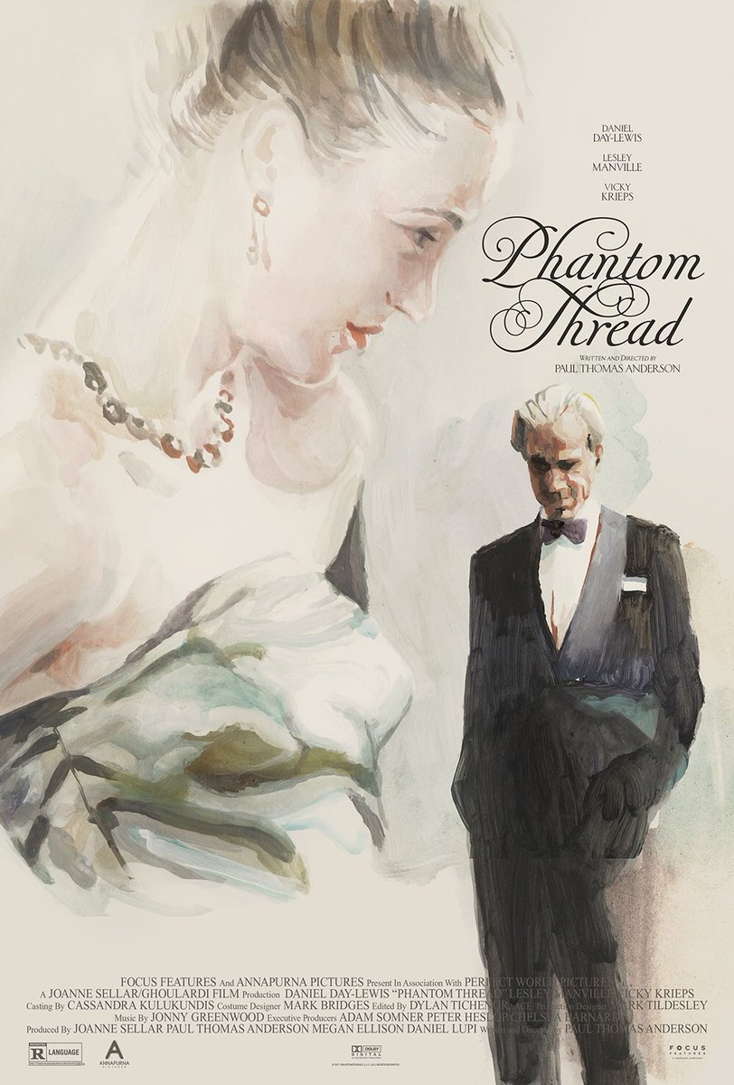 "Paul Thomas Anderson's ""Phantom Thread"" Poster by @studiotstella and @midmarauder https://t.co/sXykVtxO6T"