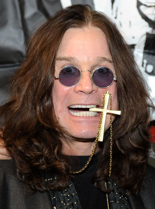 Happy birthday to Ozzy Osbourne! (Black Sabbath)