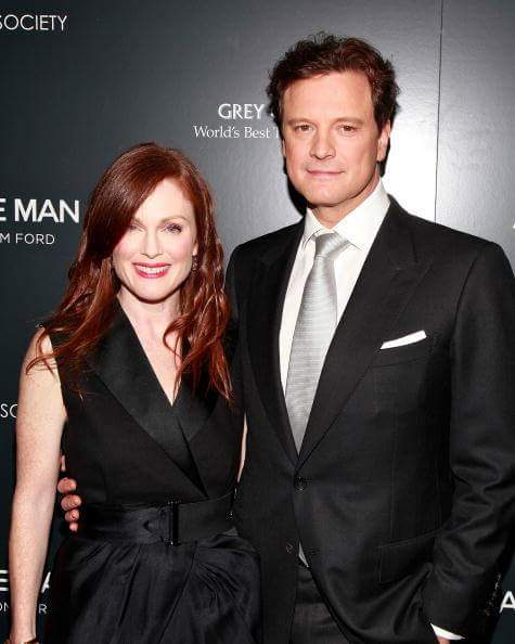 "COLIN FIRTH ADDICTED HAPPY BIRTHDAY ""JULIANNE MOORE\"" ^^"