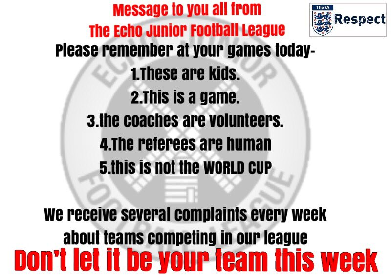 Dont Let Kids Play Football >> Echoleague On Twitter Let S All Have A Great Sunday Watching Our