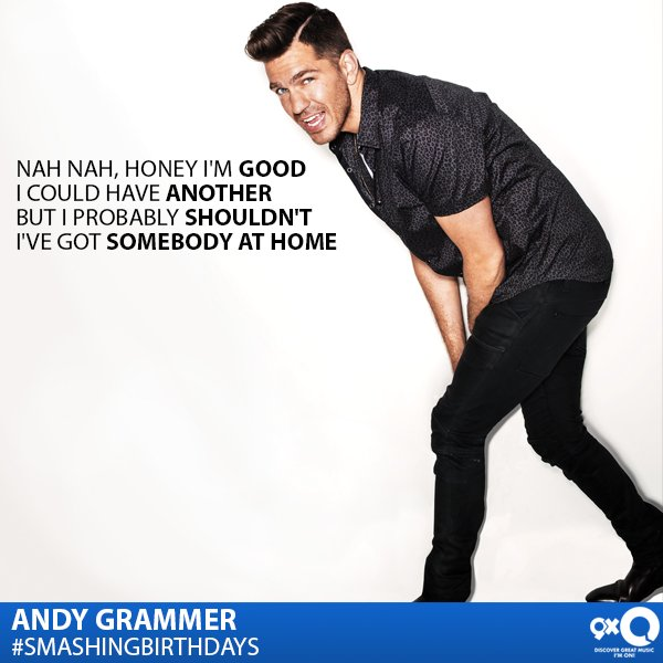 The talented, Andy Grammer celebrates his today. Happy Birthday Andy!