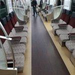 京王線の新しい車両やばい!座る席変わってるし電車の中でWIFIあるしなんなんだ... pic.twi…