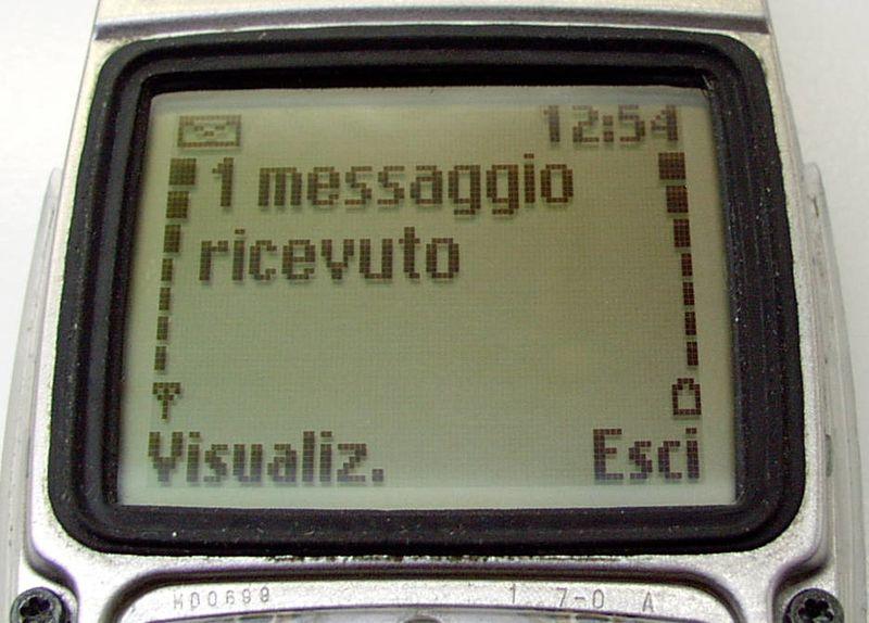 3 dicembre 1992 un ingegnere britannico invia dal suo computer il primo SMS della storia