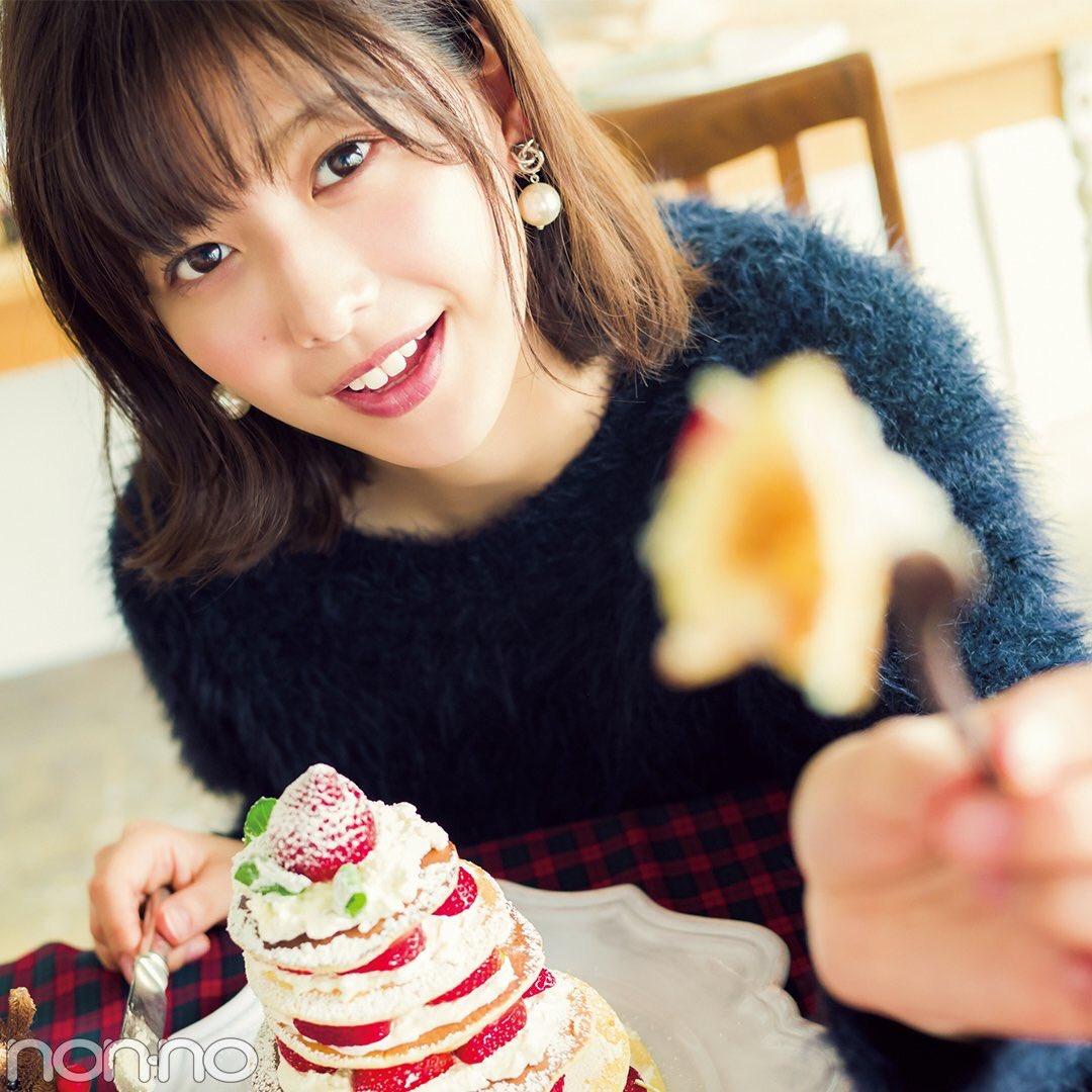 パンケーキと渡邉理佐