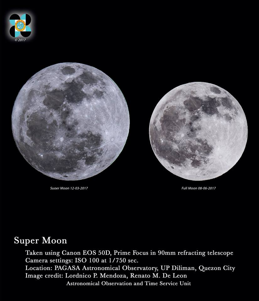 Super Moon The Moon reached its Perigee at 04:43 P.M and it will reach the Full Moon phase at 11:47 later this night. Tonight's Moon can appear up to 14% times larger and 30 times brighter than usual. #AstroPH
