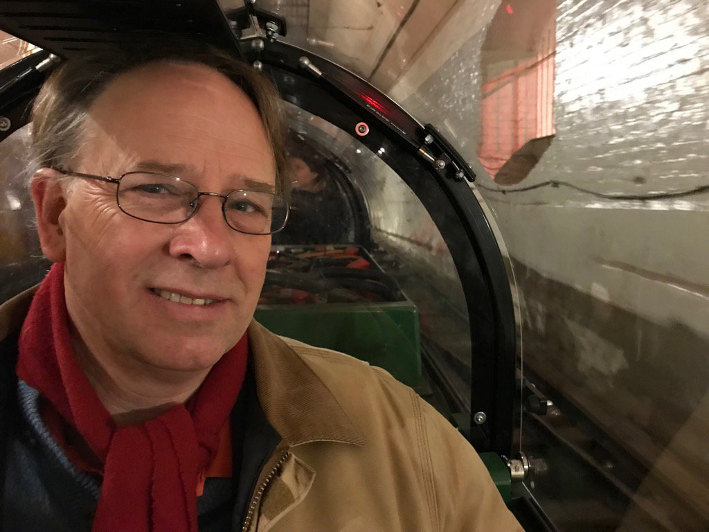 Just enjoyed a fascinating trip on the underground Rail Mail train in Clerkenwell. https://t.co/DlqTe00h9N