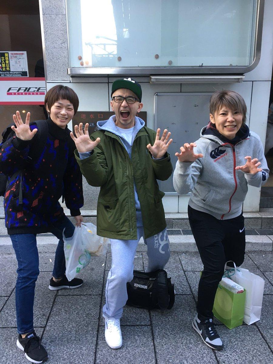 本日インパクトを残した奈部ゆかり選手と北野きゅう選手。 奈部選手は半年前よりも華とオーラが出まくっていた。 北野選手のセルフプロデュースはよかった、だけではなく試合内容でしっかり魅せてくれました🤘🏼 #奈部ゆかり #ジュエルス #肉のハナマサ #東京イサミ