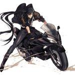 らくがき新シンさんバイク詳しくないけどこれはニンジャ250っていうアサシン感ある名前のやつのつもり …