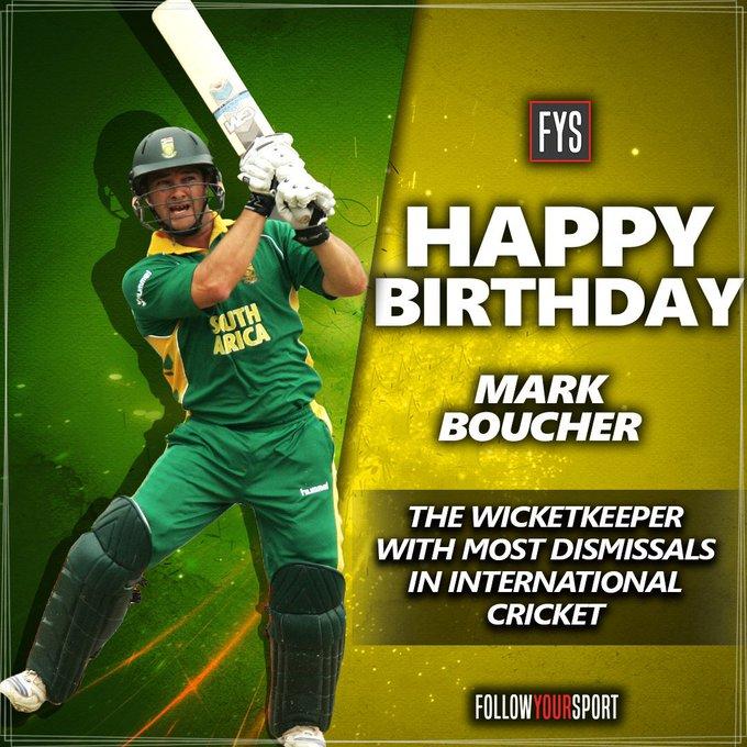 Happy birthday Mark Boucher