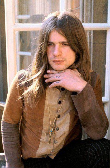 Happy birthday to Ozzy Osbourne. Photo by Mick Rock, 1974.