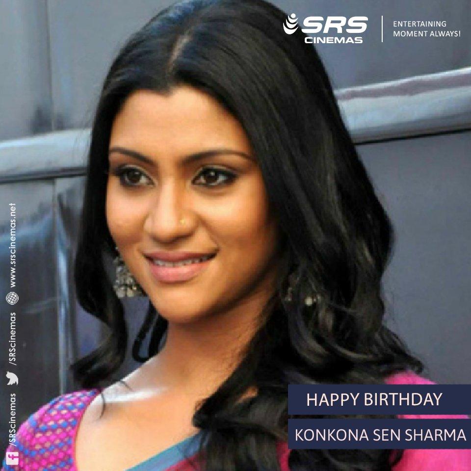 A very happy birthday to the dynamic and versatile, Konkona Sen Sharma.