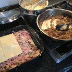 Für das heutige #Familienessen habe ich eine #lecker #Pilz #Lasagne mit Schinken vorbereitet… 😋👌🏻 #aachen_kocht