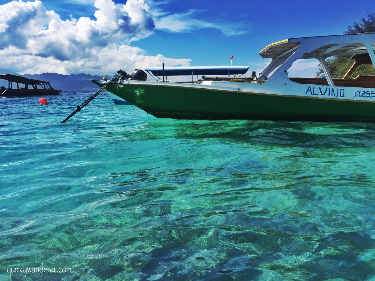 boat from lembongan to Gili Trawangan