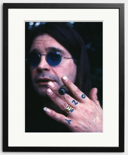 Happy Birthday to Ozzy Osbourne - photographed by Stephen Stickler in 1994.
