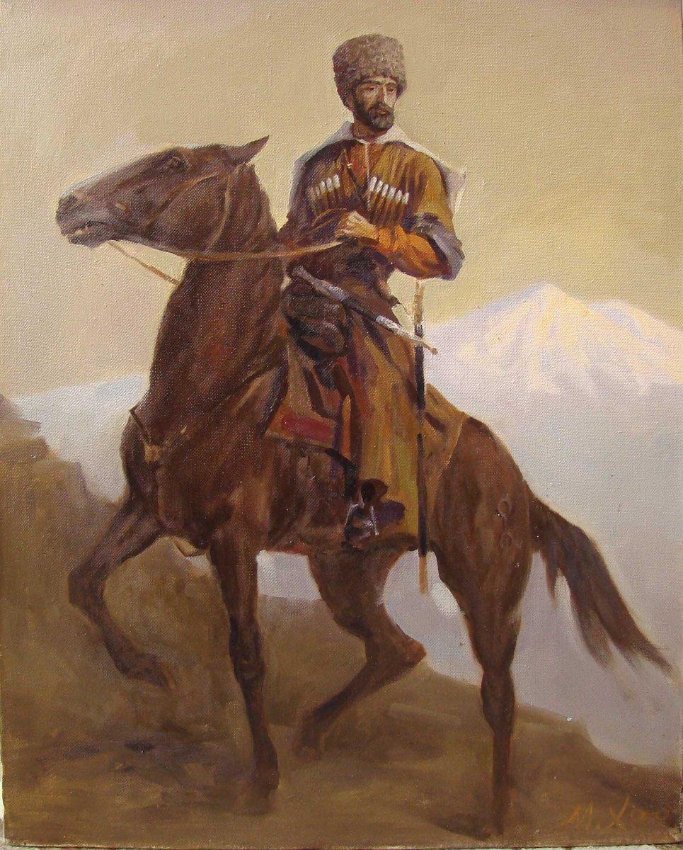 карачаевский воин картинка всего сердца
