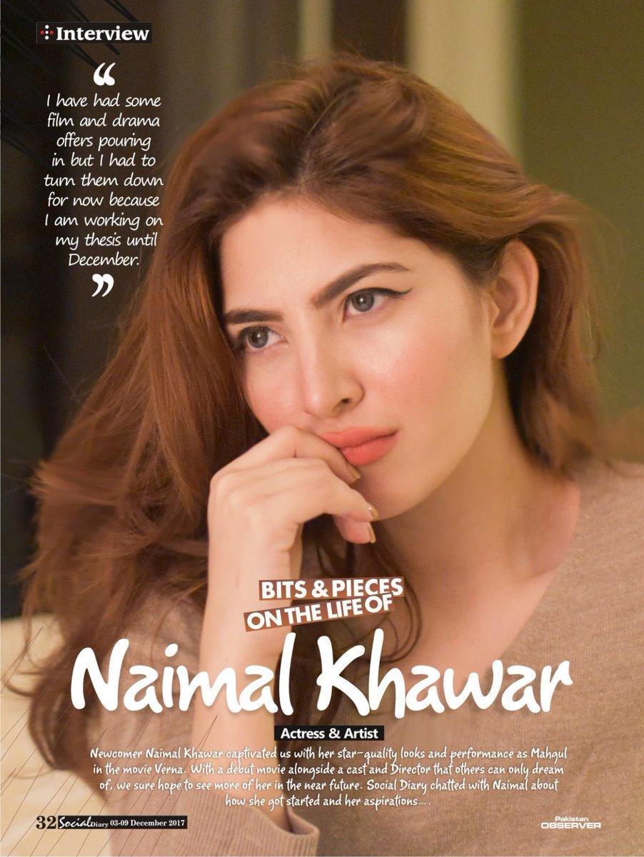 Naimal Khawar Khan on Twitter: