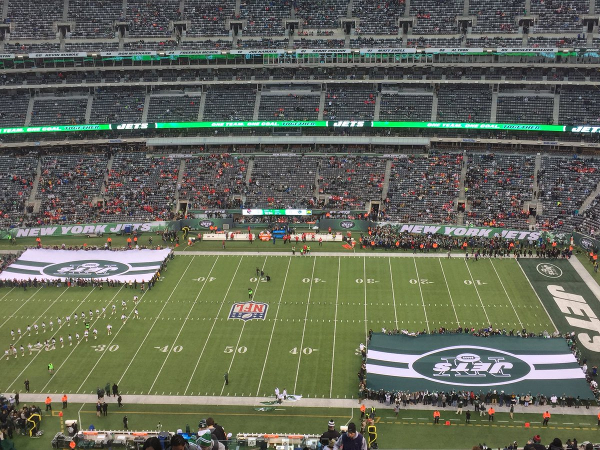 Image result for NEW YORK JETS HOME GAME EMPTY STADIUM PICS