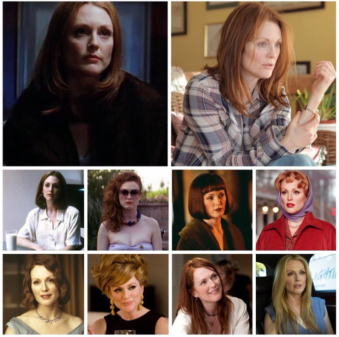 Happy birthday, Julianne Moore (b.1960)! Which of her performances is your favourite?