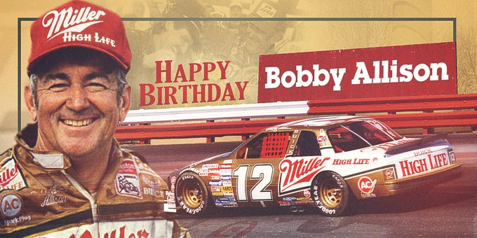 Happy Birthday to inductee, Bobby Allison!