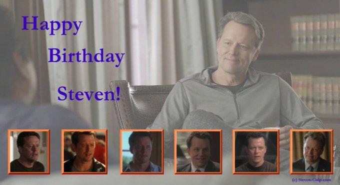 Happy Birthday to actor Steven Culp!