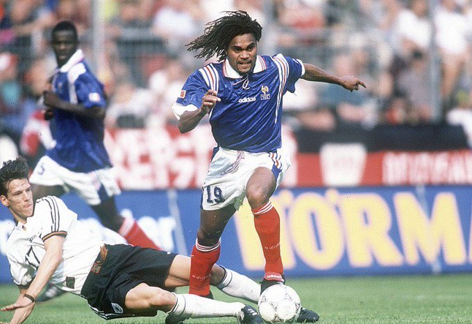 A REMINDER:   Happy Birthday Christian Karembeu World Cup winner with France in 1998.