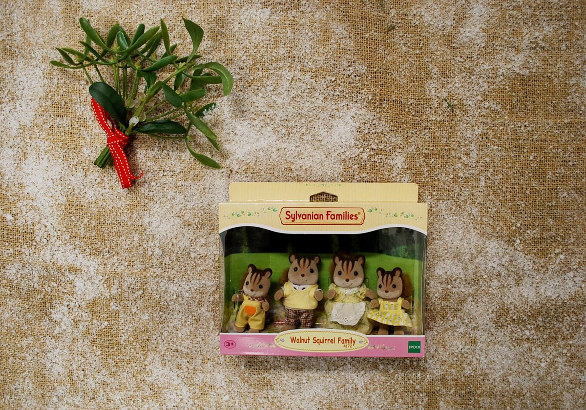 Sylvanian Families On Twitter The Third Day Of Christmas Walnut Squirrel Family A Bright Eyed And Bushy Tailed Who Live In Tree Rt For Chance To Win Our 3 Competition Prize