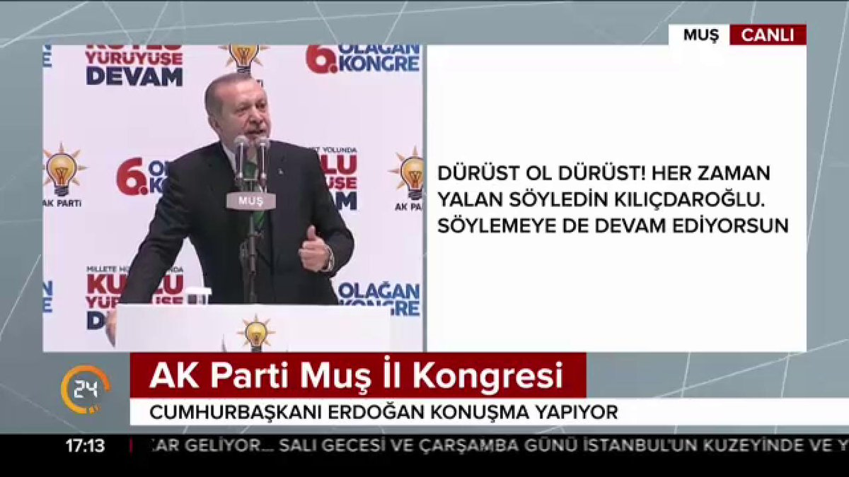 Cumhurbaşkanı @RT_Erdogan:  'Kasetle gel...