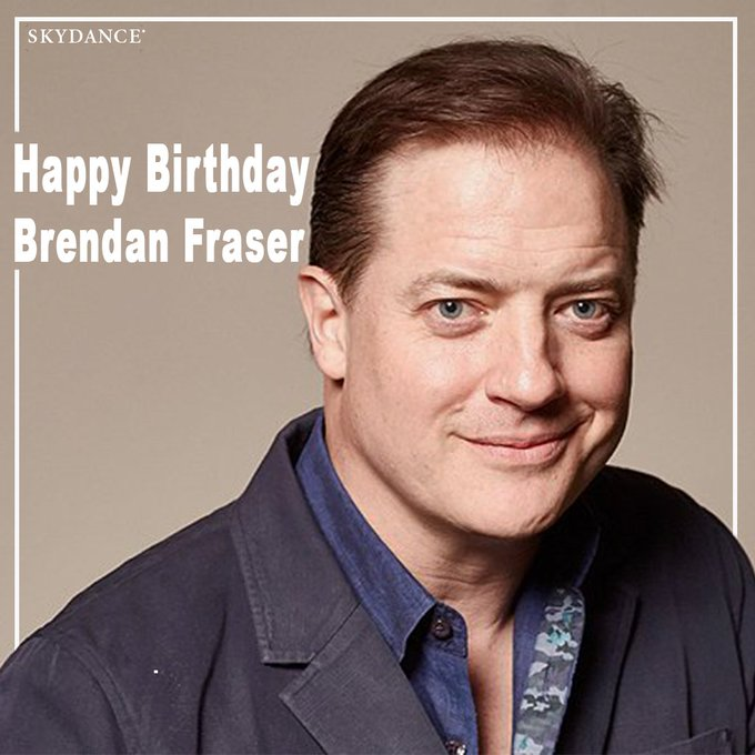 Happy birthday to Brendan Fraser from our upcoming show on AT&T Audience Network!
