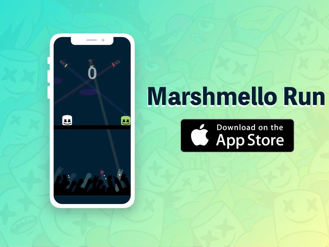 Marshmello Run on Twitter: