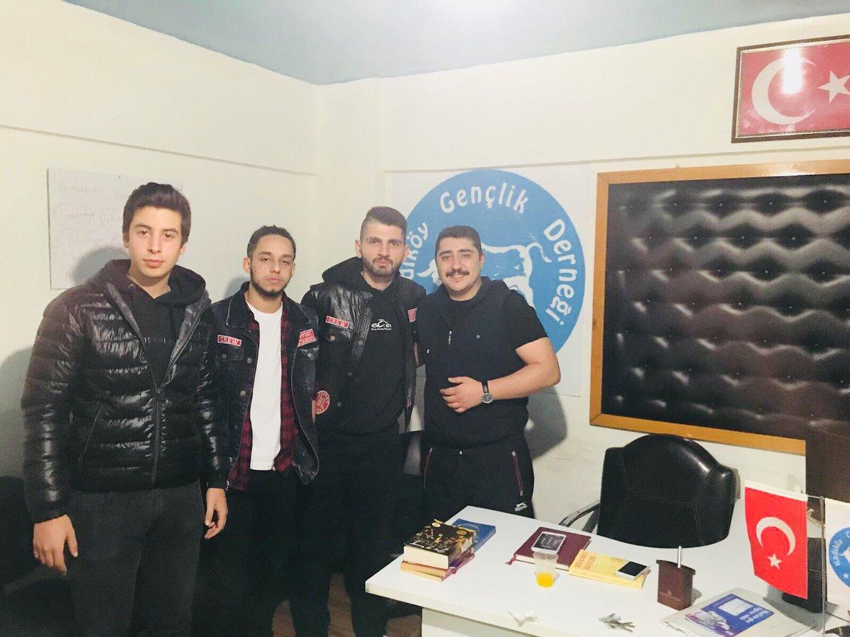 RT @kadikoygenclik_: Ünlü motorsiklet grubu 81 Support grubundan kardeşlerimiz derneğimizi ziyaret ettiler. https://t.co/ZTyXpHNShX