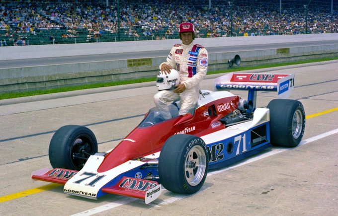 Still one of my all-time favourites. Happy birthday to the great Rick Mears.