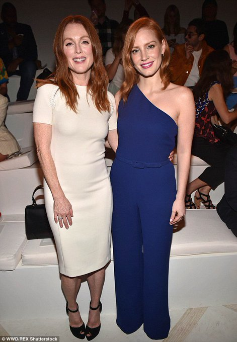 Happy Birthday to the beautiful & talented Julianne Moore!