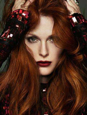 Happy Birthday Julianne Moore (born December 3, 1960) haired