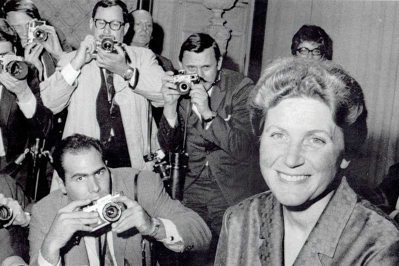 HISTORY: In 1967, Joseph Stalin's daughter visited the US embassy in New Delhi, India, and surprised diplomats by defecting from the Soviet Union. Upon arriving to New York, she denounced communism and her father's legacy.