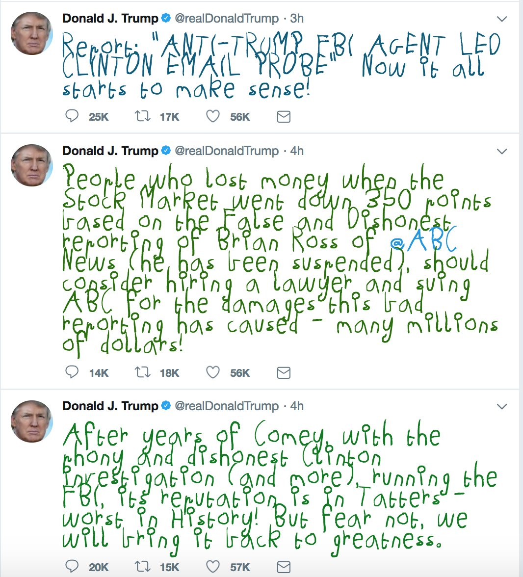 The Chrome extension that turns Trump's tweets into a child's crayon scrawls continues to reap dividends