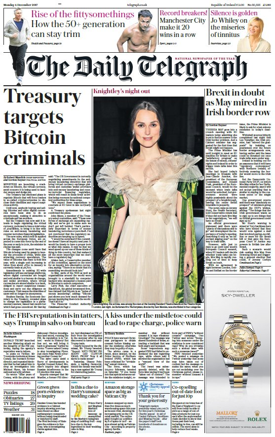 The telegraph on twitter treasury targets bitcoin criminals treasury targets bitcoin criminals tomorrows front page of the daily telegraph tomorrowspaperstodaypicitteruuh0gognbx ccuart Image collections