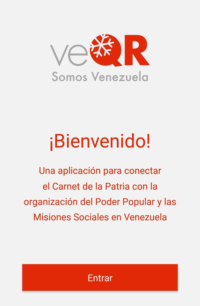 Resultado de imagen para veQR - Somos Venezuela