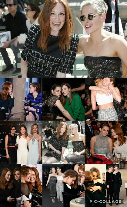 Happy Birthday Julianne Moore (collage made by Abbey)