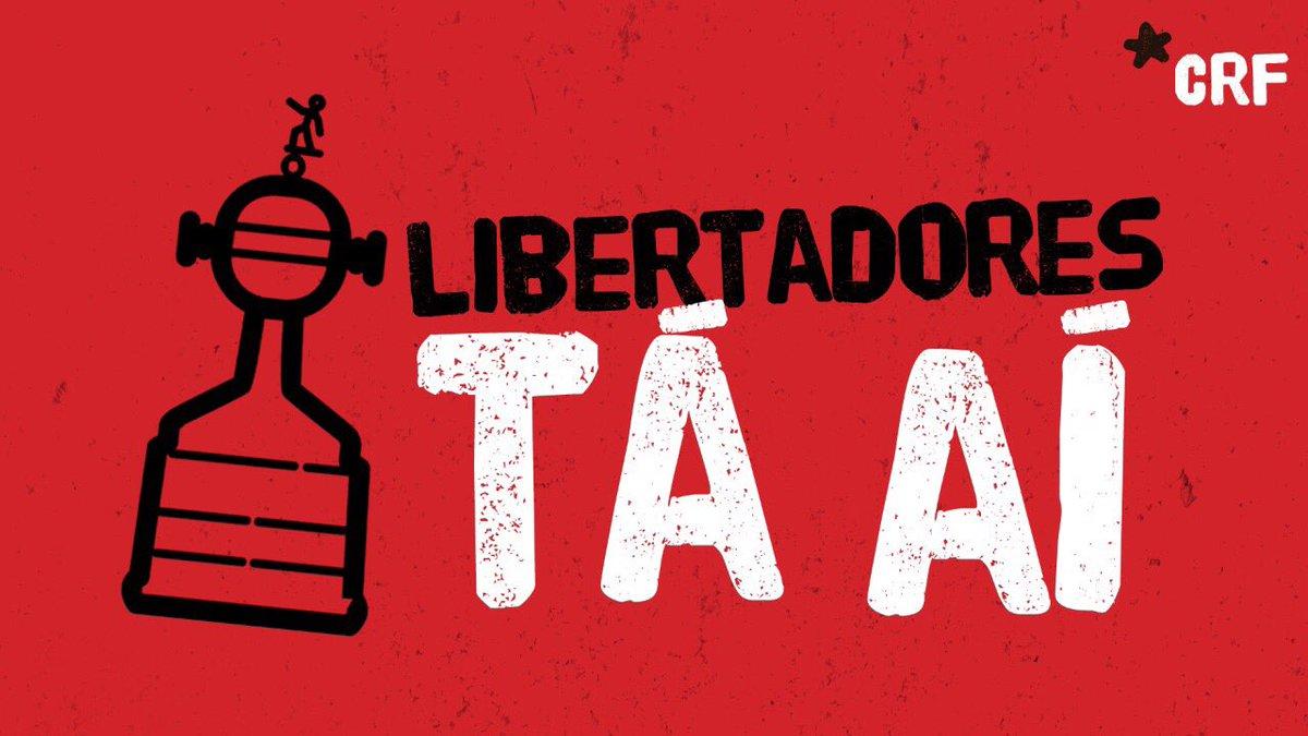 Destino: fase de grupos #LibertadoresTáAí  E ainda temos uma decisão! Torcida será grande!