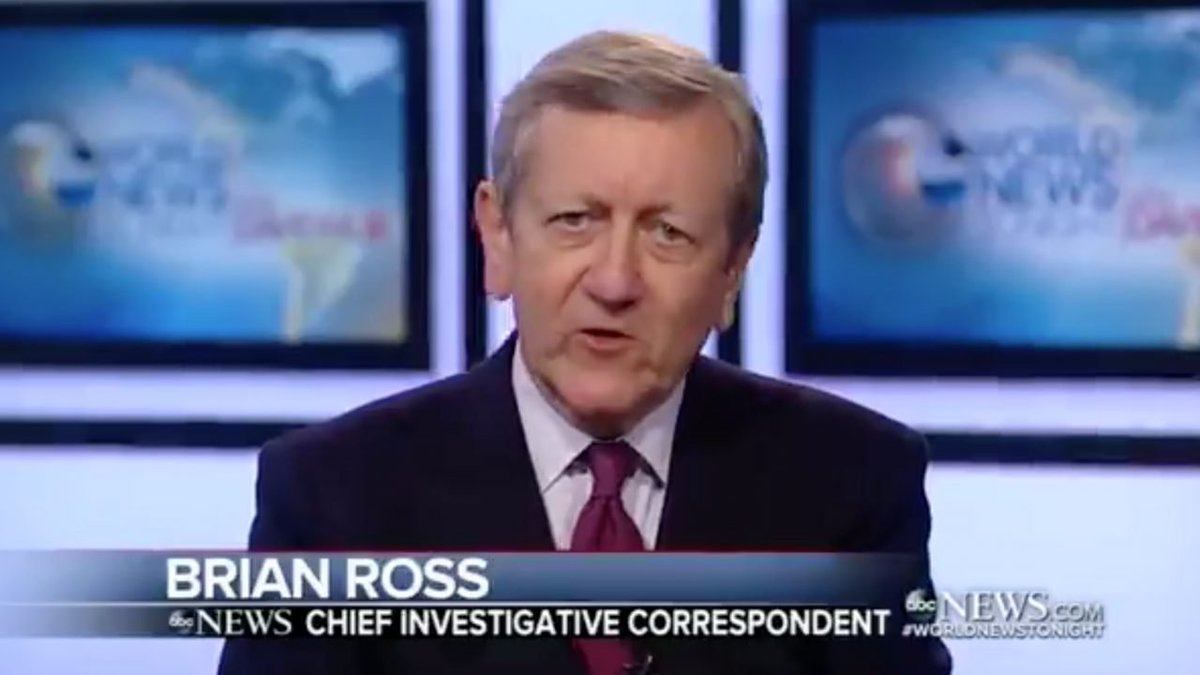 Brian Ross has a long history of very fake news