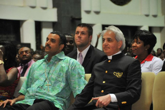 Happy birthday to a great general in the kingdom of God, Ps Benny Hinn. May God bless you.