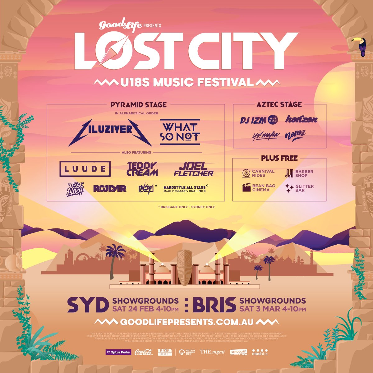 Lost City U 18s Festival Goodlifepresent Twitter