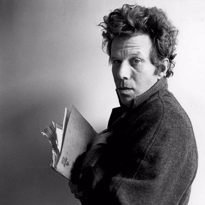 Happy Birthday to the amazing Tom Waits! He\s 68 years young today.
